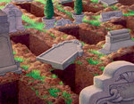 Empty Graves After the Second Coming