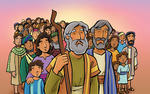 Moses Leads the People