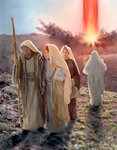 Lot and His Daughters After Sodom and Gamorrah