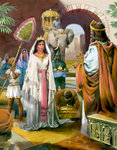 Queen Sheba Visits King Solomon