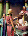 King Solomon's Wisdom of the Baby
