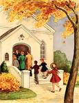 Family Entering Church
