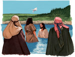Jesus Baptized by John the Baptist